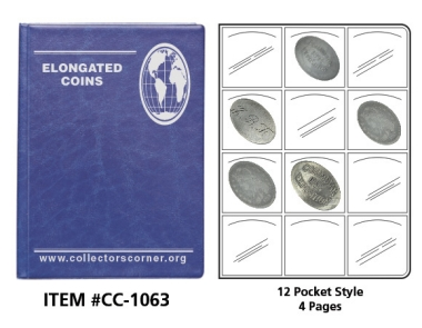 Elongated Coin Folder